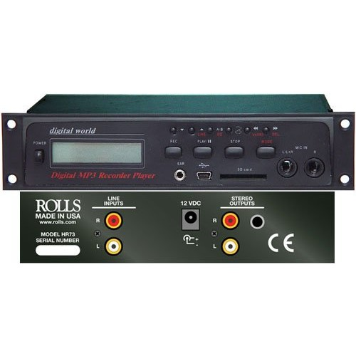 rolls HR73 Digital MP3 Recorder/Player [one size]