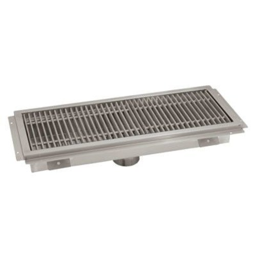 Advance Tabco Floor Trough Grid Shower Drain; 7'' H x 62'' W x 14'' D