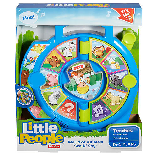 Fisher-Price Little People World of Animals See 'n Say Playset