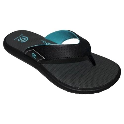 Women's Chantel Sporty Flip Flop Sandals - C9 Champion Black/Blue