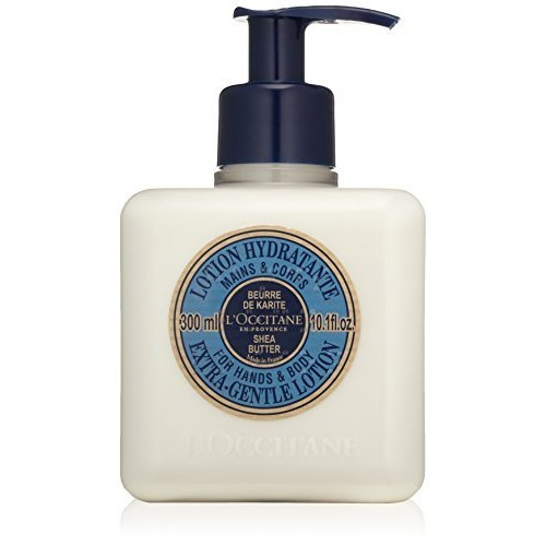 L'Occitane Shea Butter Extra-Gentle Lotion for Hands & Body, 10.1 fl. oz.