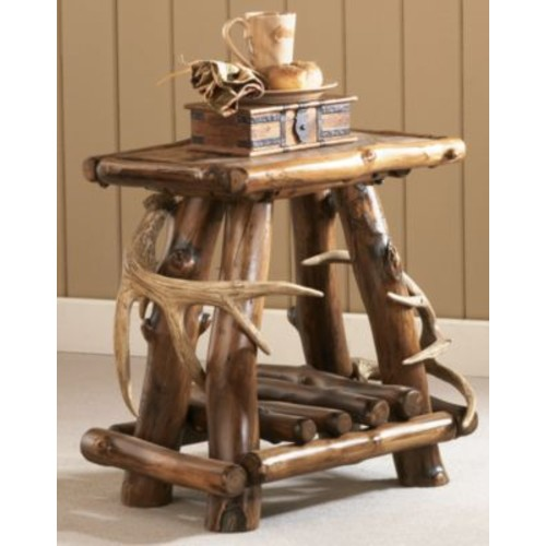 Cabela's Rustic Lodge End Table