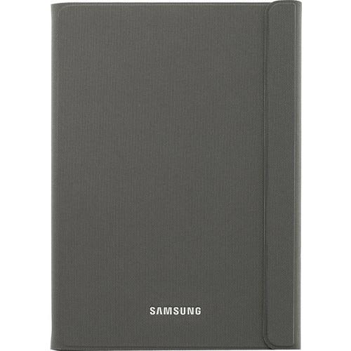 Samsung - Book Cover for Samsung Galaxy Tab A 8.0 - Dark Titanium