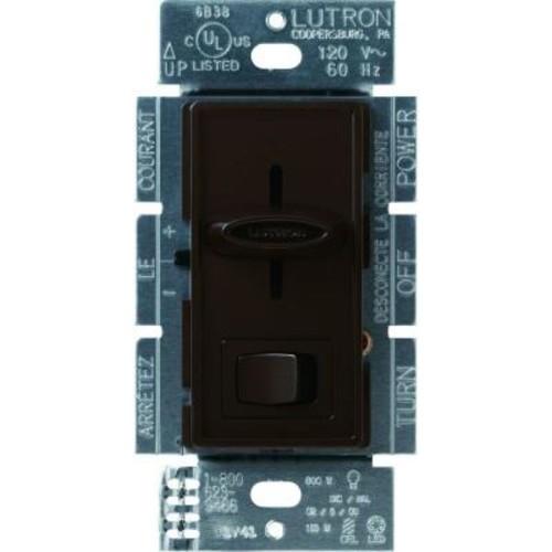 Lutron Skylark 150-Watt Single-Pole/3-Way CFL-LED Dimmer - Brown