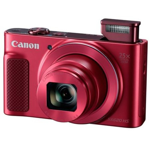 Canon PowerShot SX620 HS Digital Camera and Free Accessories, Red 1073C001 A