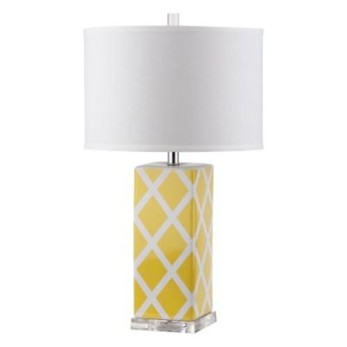 Safavieh Garden Lattice Table Lamp with CFL Bulb, Multiple Color, Set of 2