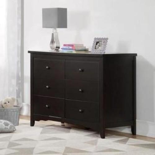 Baby Relax DA7253-1E Lakeley 6 Drawer Dresser, Espresso