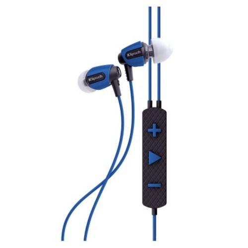 Klipsch AW-4i Earset - Stereo - Blue - Mini-phone - Wired - 18 Ohm - 10 Hz - 19 kHz - Earbud - Binaural - In-ear