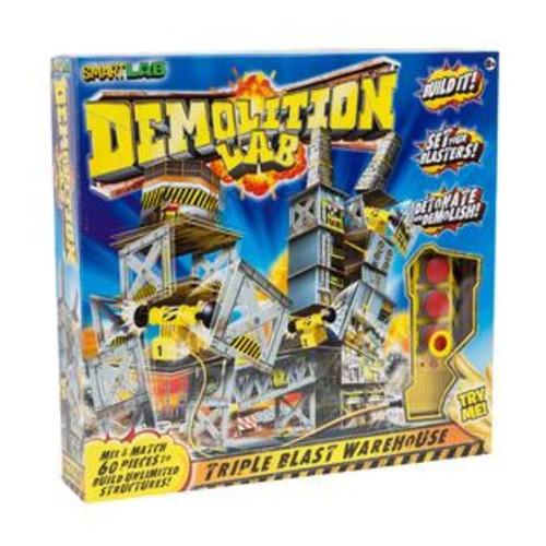 SmartLab Toys Smart Lab Demolition Lab Triple Blast Warehouse