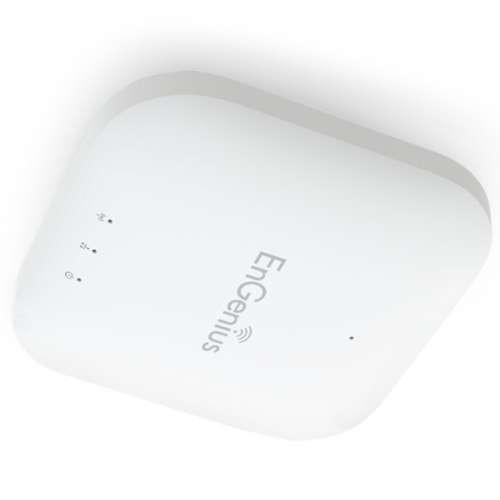 EnGenius Neutron Wireless Managed Access Point  Single Band, 2.4GHz, IEEE 802.11b/g/n, 300Mbps, 2x 5dBi Internal Antennas, 29dBm, RJ-45 Port w/PoE Support, Low Profile, Ceiling Mountable - EWS300AP