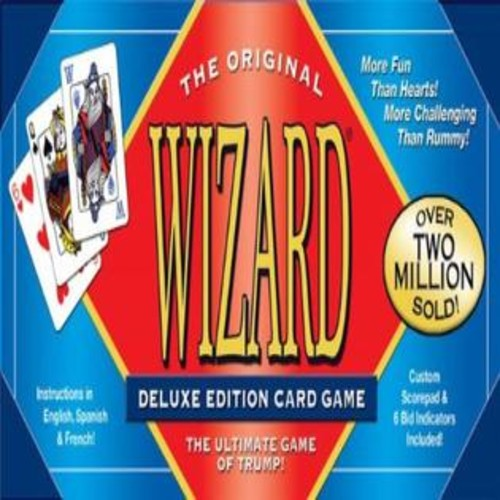US Games Wizard Card Game Deluxe