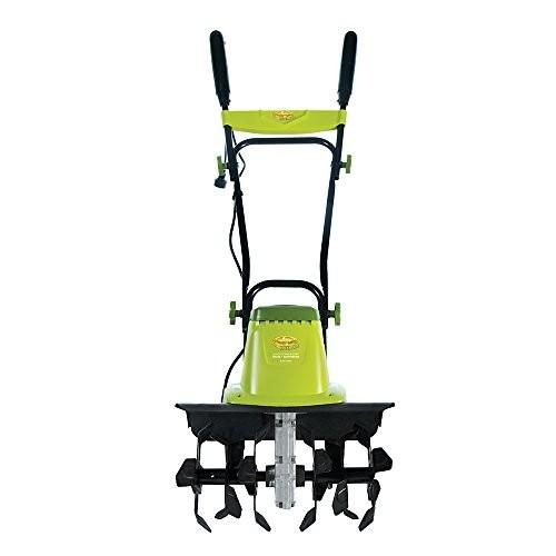 Sun Joe TJ603E 16-Inch 12-Amp Electric Tiller and Cultivator [Green]