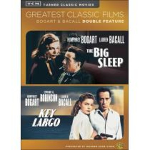 TCM Greatest Classic Films: Bogart & Bacall Double Feature - The Big Sleep/Key Largo [2 Discs] [DVD]