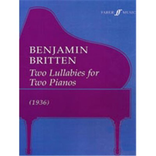 Alfred Two Lullabys for Two Pianos (LFR5028)