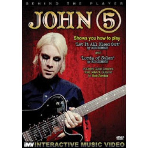 Music Video Dist John 5-behind The Player [dvd]