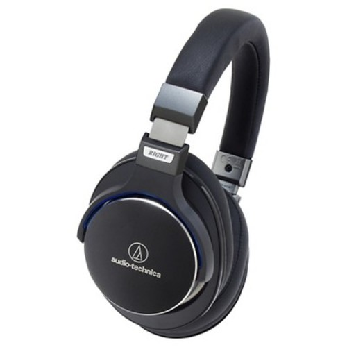 Audio Technica SonicPro Over-the-Ear High-Resolution Audio Headphones - Black (ATH-MSR7BK)