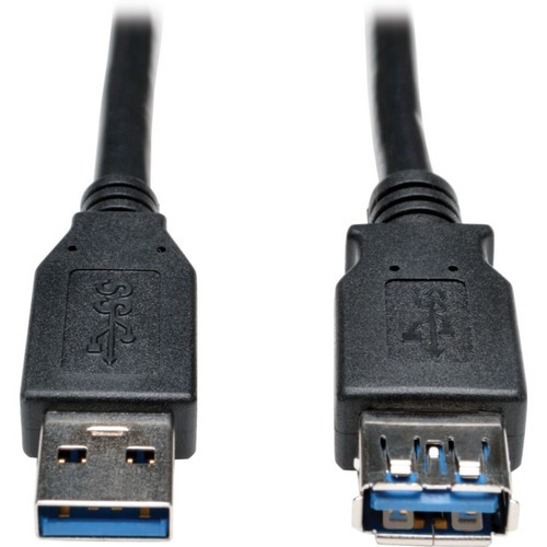 Tripp Lite SuperSpeed 6' M/F USB 3.0 A/A Extension Cable; Black