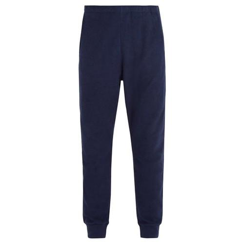 Jouban terry-towelling cotton track pants