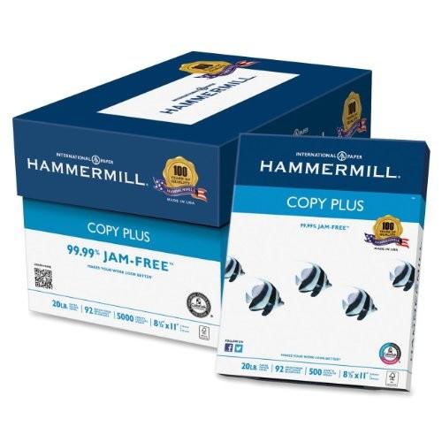 Hammermill Copy Plus Multipurpose Inkjet & Laser Paper, 8 1/2