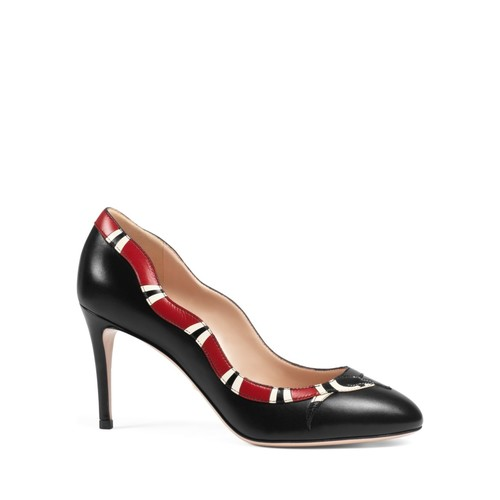 GUCCI Yoko Serpent High Heel Pumps