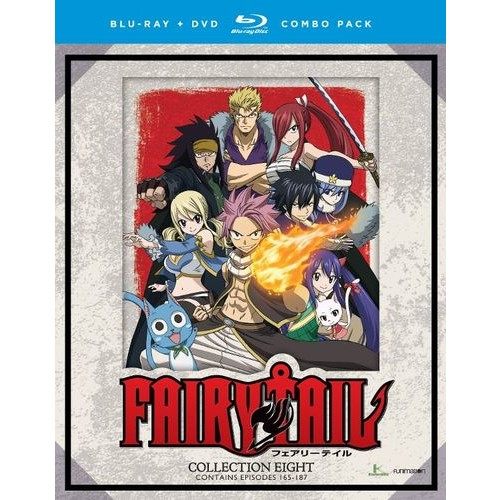 Fairy Tail: Collection Eight [Blu-ray/DVD] [8 Discs]