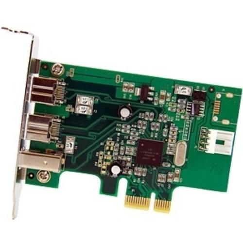 StarTech.com 3 Port 2b 1a Low Profile 1394 PCI Express FireWire Card Adapter PEX1394B3LP
