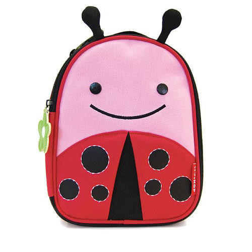 Skip Hop Zoo Lunchie Insulated Lunch Bag - Livie Ladybug