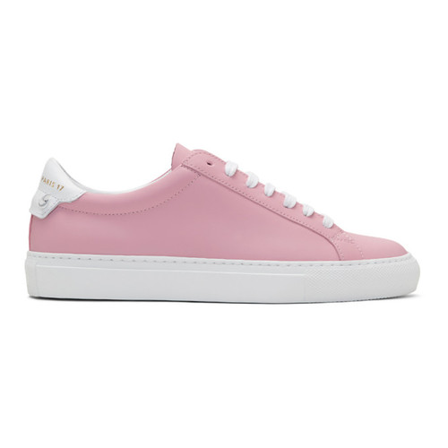 GIVENCHY Pink Urban Knots Sneakers