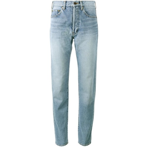 SAINT LAURENT High Waist Jeans