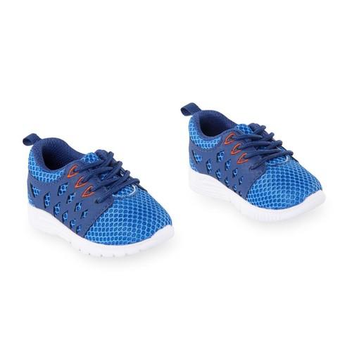 Koala Kids Hard Sole Blue/White Sneakers