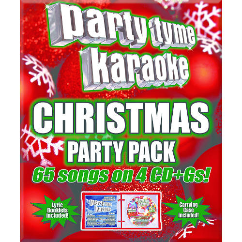 Party Tyme Karaoke: Christmas 65- Song Party Pack 4 CD+G