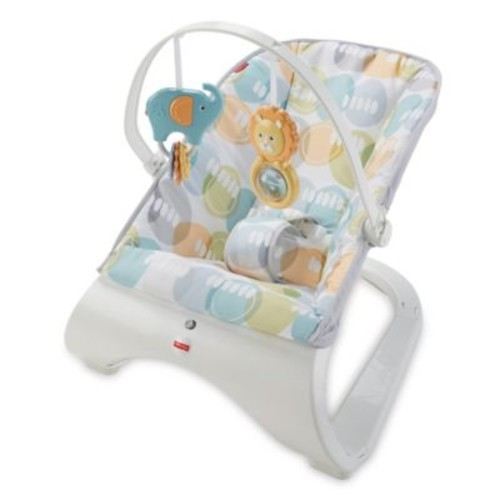 Fisher-Price Comfort Curve Bouncer in City Pebble