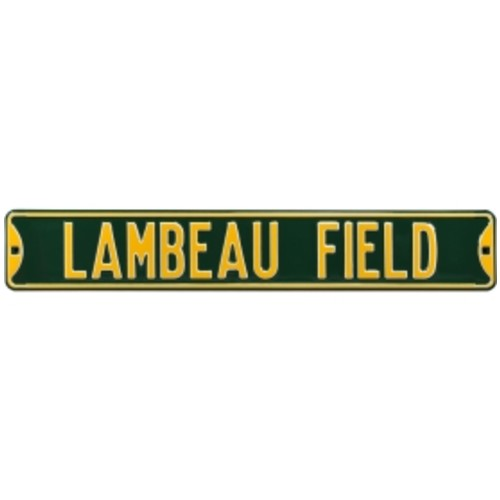 Authentic Street Signs Green Bay Packers Lambeau Field' Street Sign