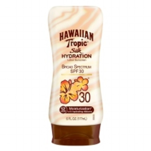 Hawaiian Tropic Silk Hydration Lotion Sunscreen, SPF 30