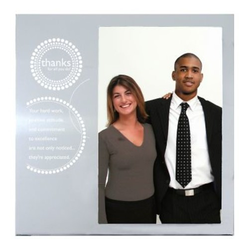 Silver Photo Frame, Thanks for All You Do!