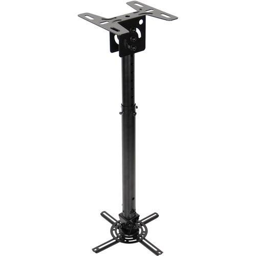 Quick Adjusting Universal Projector Pole Mount (Black)