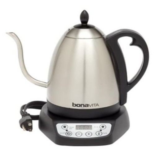 Bonavita Bonavita 1.0L Gooseneck Variable Temperature Electric Kettle