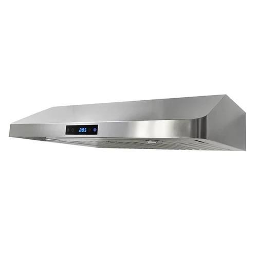 KOBE CHX36 SQB-29 Brillia 30 or 36-inch Under Cabinet Range Hood, 3-Speed, 290 CFM, LED Lights, Baffle Filters [option : 35 - 35.9 inches]
