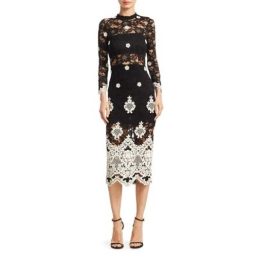 ALEXIS Helina Floral Lace Dress