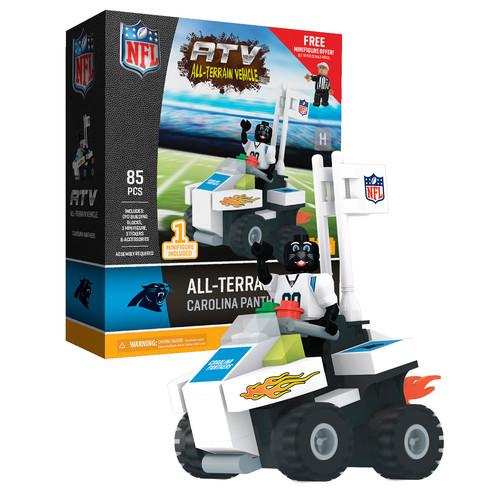 OYO Sports NFL Carolina Panthers NFL 4 wheel ATV with Mascot