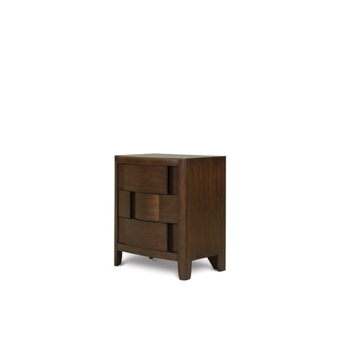 Magnussen Home Furnishings Twilight Brown Chestnut 3-drawer Nightstand