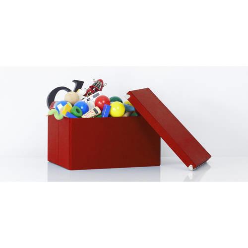Samsill Pop n' Store Mega Box - 2 Pack - Red - 15.5