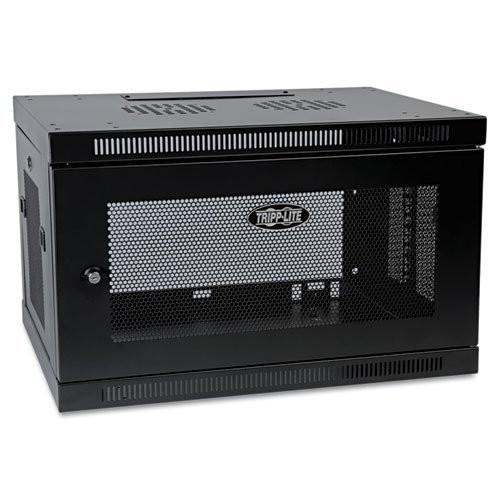 Tripp Lite 6U Wall Mount Rack Enclosure Server Cabinet, 16.5