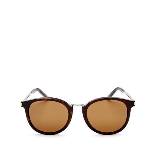 SAINT LAURENT Round Sunglasses, 51Mm