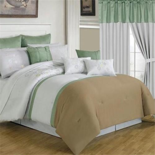Lavish Home 25 Piece Room-In-A-Bag Elizabeth Bedroom Set