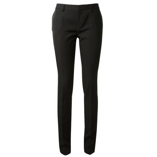SAINT LAURENT Side Silk Stripe Trousers
