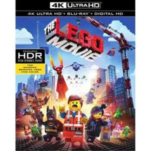 The Lego Movie [4K UHD] [Blu-Ray] [Digital HD]