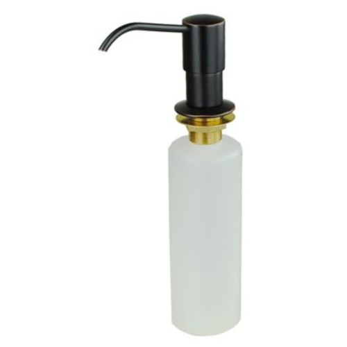 BuildersShoppe Kitchen Sink Soap & Lotion Dispenser; Oil rubbed bronze
