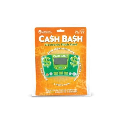 Learning Resources Cash Bash Electronic Flash Card [1]