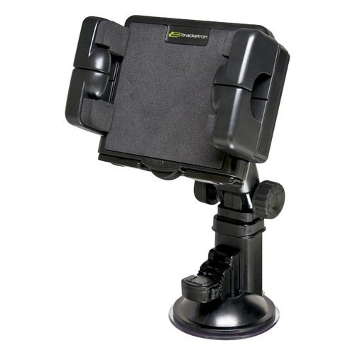 Bracketron - XL Pro-Mount Windshield Mount for Select Portable Devices - Black